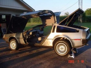 Disassembly of a Delorean