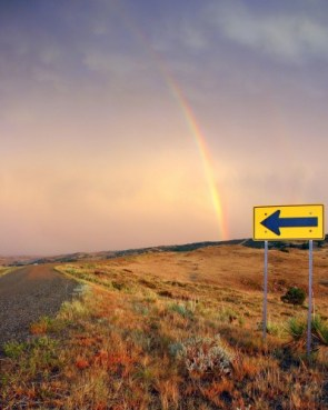 This way to the rainbow