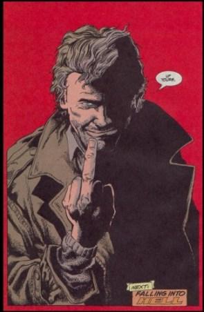 John Constantine's finger