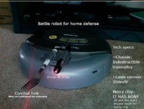 Battle Roomba