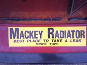 Mackey Radiator