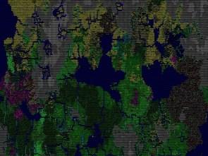 Dwarf Fortress World Map