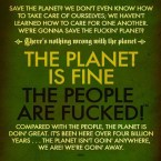 Save the planet?