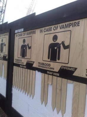 Funny promotion for True blood