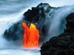 Kilauea Volcano Lava Flow Hawaii
