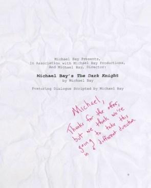 Michael Bay\'s The Dark Knight