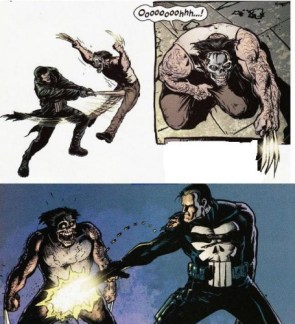Punisher vs Wolverine
