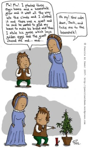 The Magical Beanstalk