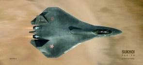 Russian Sukhoi PAK-FA