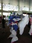 My Gundam Wing Zero Custom cosplay