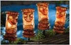 Lighted Tiki Garden Stakes