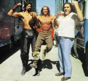 Conan's entourage