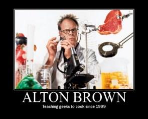 Alton Brown Motivator