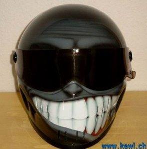 More weird bike helmets