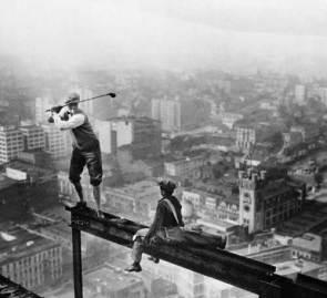 A high golfer
