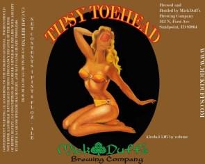 Tipsy Toe Head Beer