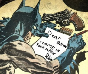 Dear Batman,