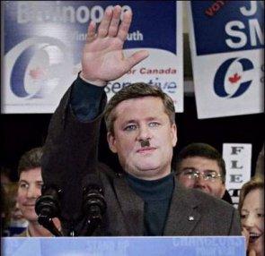 Canada's Prime Minister Steven Hitler