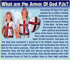 Armor of God PJs