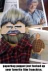 George Lucas Paper Bag Puppet