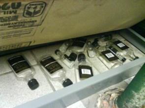 Secret booze stash (at work)
