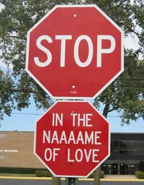 Stop…in the name of love