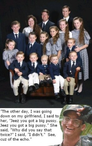 Hawkins replies to Woman with 18 Children.