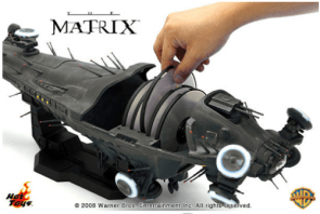 Matrix Trilogy comes in neat toy Nebuchadnezzar