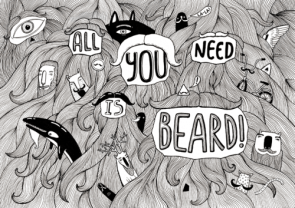 All you need is beard