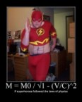 M = M0 / √1 – (V/C)^2