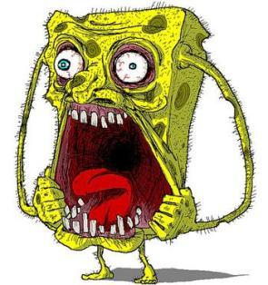 Uber-Hard Spongebob