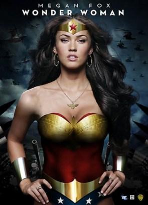 Wonder Woman Megan Fox
