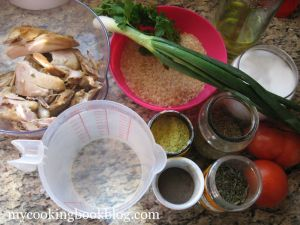Пиле с Ориз на Фурна или как да оползотворим останалото пилешко