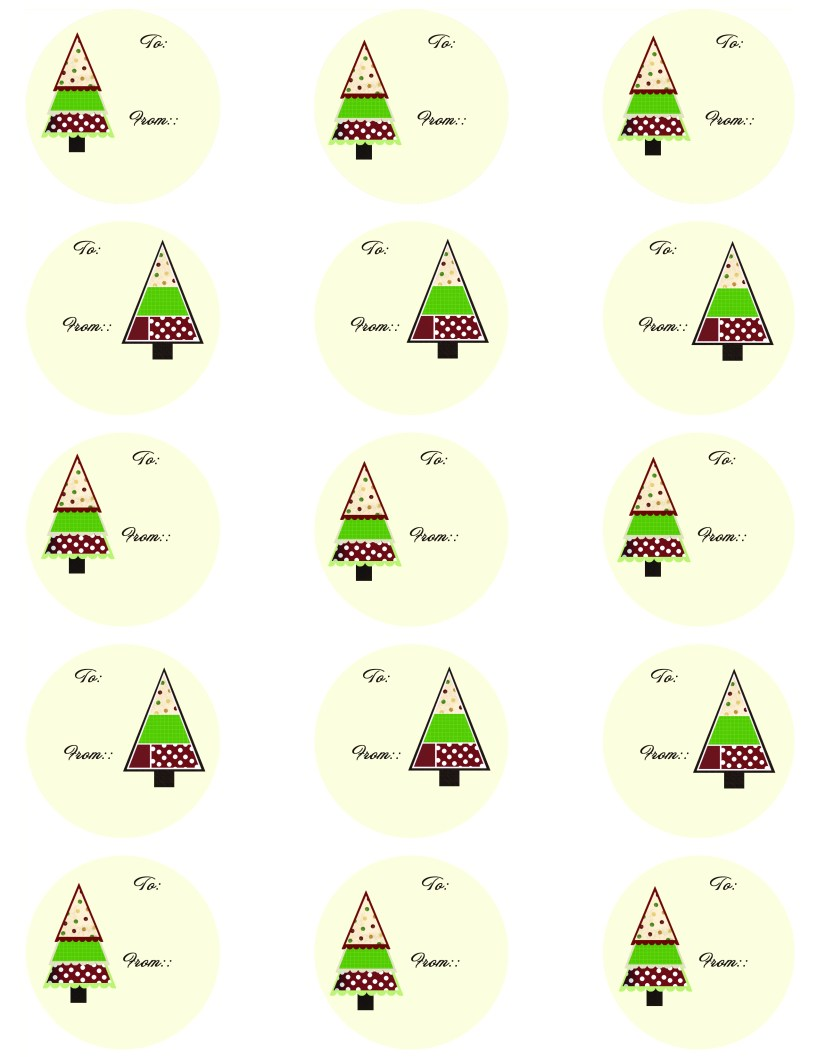 Traditional Gift Labels