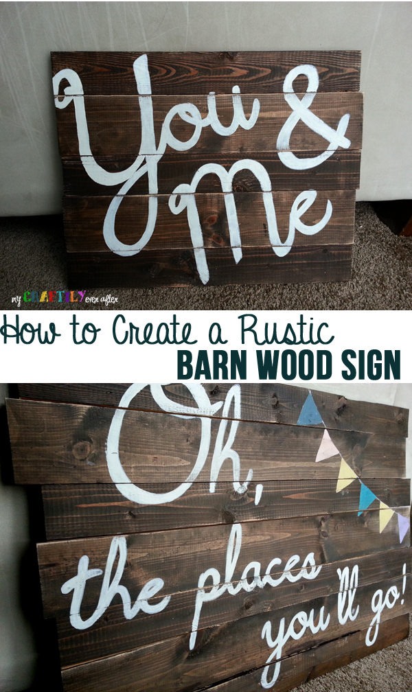how to create a sign