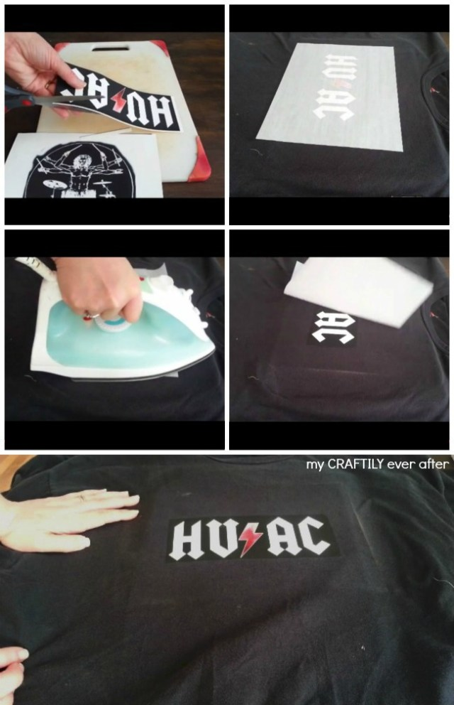 How to create a custom t-shirt | My Craftily Ever After
