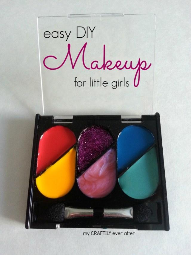 easy DIY makeup for little girls