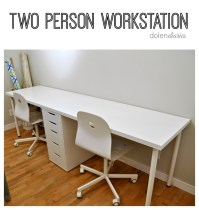 Two Person Workstation - My Craftily Ever After