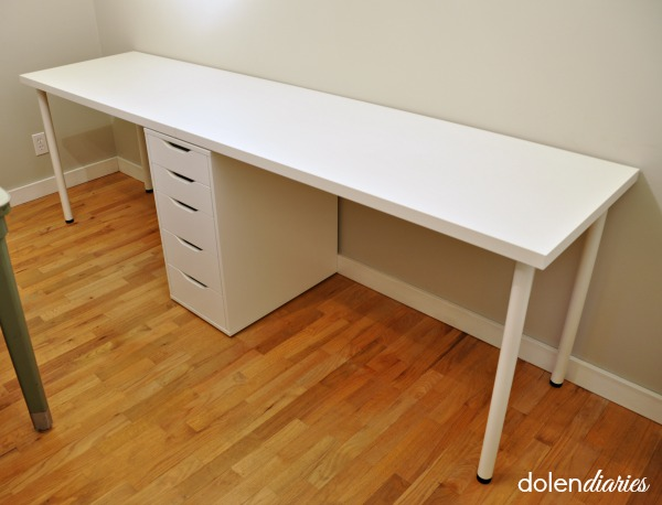 Two Person Desk Family Room