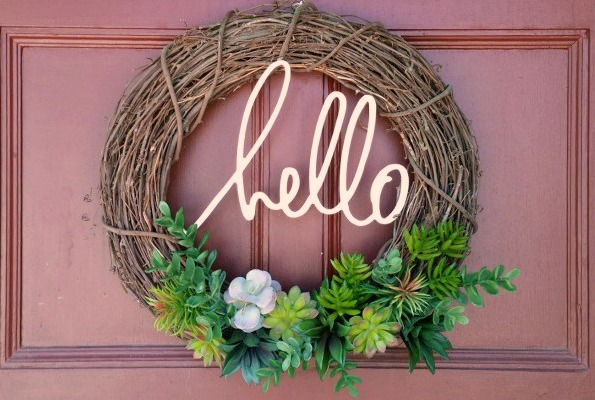 succulent-wreath love