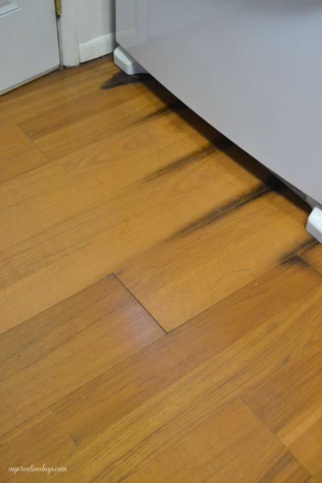kitchen makeover laminate flooring laminate flooring kitchen Pin this Kitchen Makeover Laying Laminate Flooring mycreativedays com