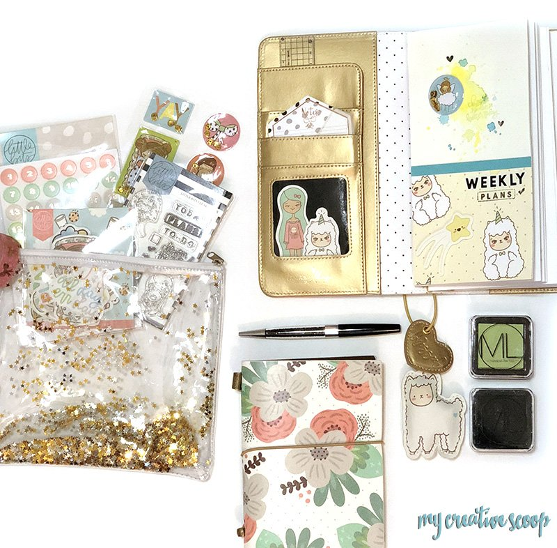 Simple Planner Decorating with Mommy Lhey Little Bits Monthly Kit