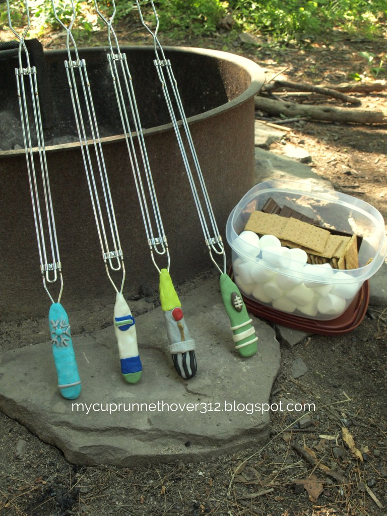 CAMPING KIDS CRAFT – CREATE YOUR OWN S'MORES ROASTING STICKS
