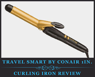 Travel Smart By Conair Ceramic Curling Iron Review