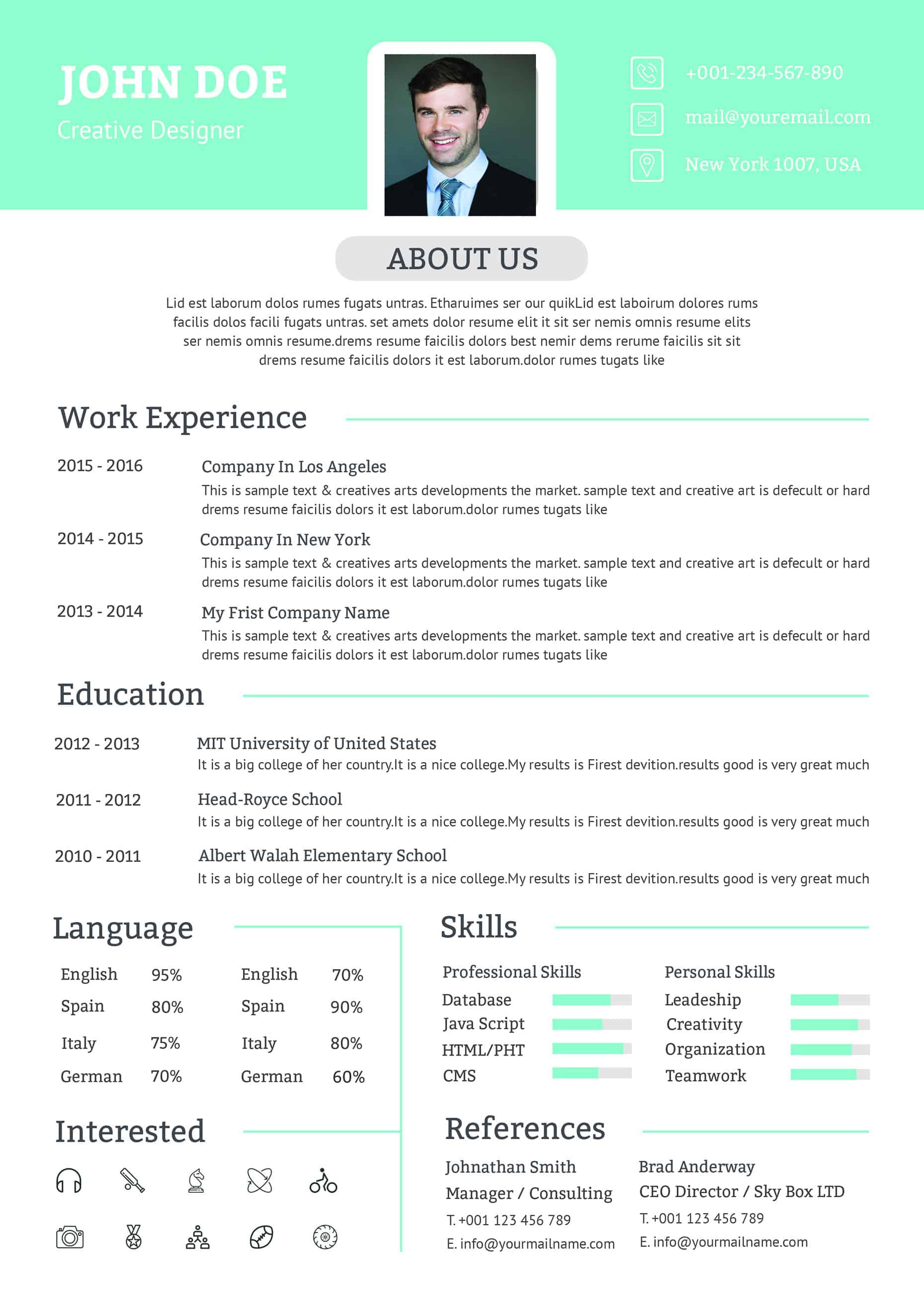 resume job