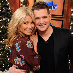Michael Buble with Kelly