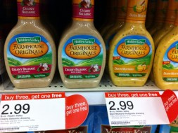 hiddenv 300x224 Hidden Valley Dressing Deal at Target ~ As Low as $1.49 Each