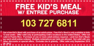 ehdgos kef925121 300x149 (Ended) Last Day ~ Kids Eat FREE at Chilis + Free Chips and Queso Coupon
