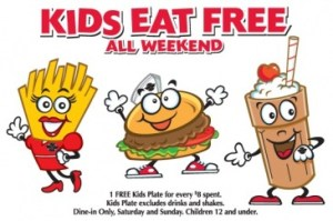 steak 300x199 Kids Eat Free at Steak & Shake Today
