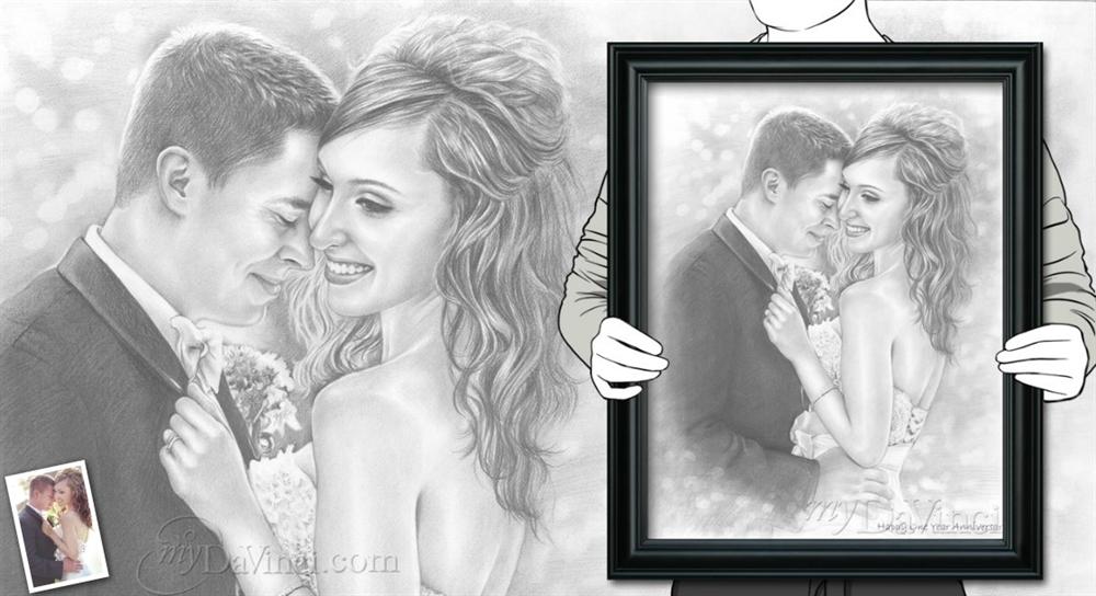 Hand Drawn Pencil Sketch from Photos - myDaVinci